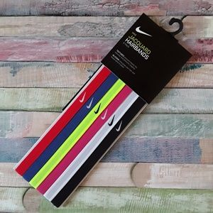 6 Pack NIKE Jacquard Hairbands